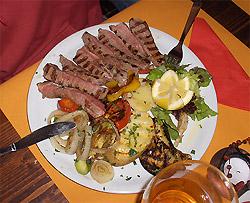 I piatti del Ristorante del Lino's Bar
